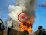Einfamilienhaus brannte bis auf die Grundmauern nieder