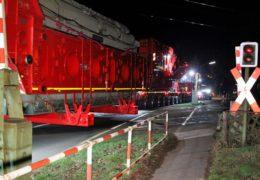 185-Tonnen-Trafo geht auf Reisen