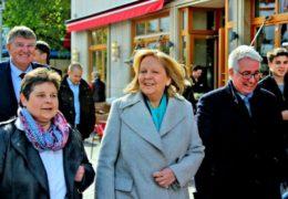 NRW-Landesmutter Hannelore Kraft auf Stippvisite in Siegen