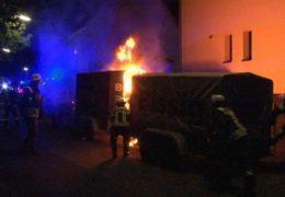 Feuerteufel erneut in Siegen aktiv!