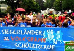 Über 2.000 Grundschüler nahmen am 5. Siegerländer Volksbank-Schülerlauf teil