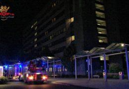 Großeinsatz der Feuerwehr am Siegener Jung-Stilling Krankenhaus