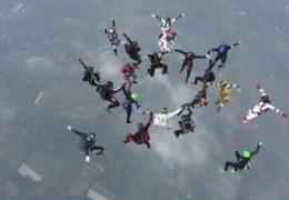 Europarekord! Riesiger Erfolg für heimische Fallschirmsportler