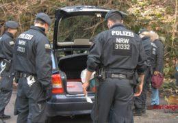 Sieben Festnahmen bei Sonderkontrollen